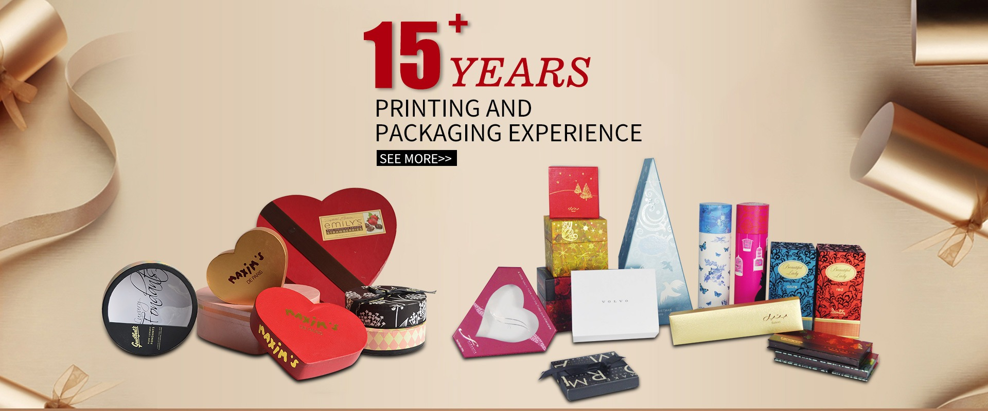 Gift packaging factory | gift packaging factory | chocolate box | cosmetic box | soap box